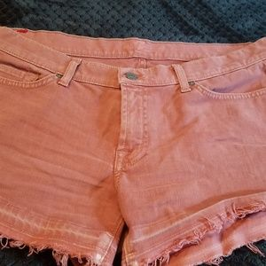 Seven for all Mankind cut off shorts size 32